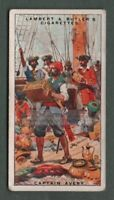 The Arch Pirate Long Ben  Henry Avery  90+ Y/O Ad Trade Card
