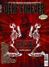 DEAF FOREVER # 35 (NEW*GER METAL MAG*CIRITH UNGOL*SLAYER*DOOL)