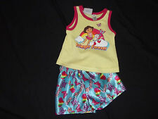 GIRL'S DORA THE EXPLORER PAJAMAS~~BNWT~~SIZE 6