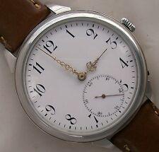 International Watch Co Big Wristwatch Steel Case 50,5 mm. Chronometric Regulator