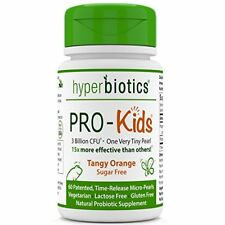 PRO-Kids: Children's Probiotics - 60 Tiny, Sugar Free, Once Daily, Time Release