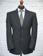 Greenwoods Single Breasted Wool Blend Grey Pinstripe Trouser Suit 40S 36W 28L