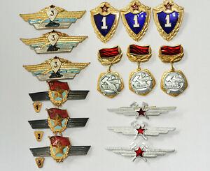 15 Klassifizierungsabzeichen der Sowjetarmee aus den Restbeständen neu