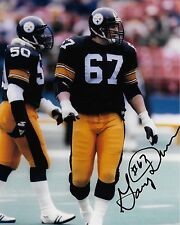 Pittsburg Steelers Gary Dunn Autographed 8x10 Photo (Reproduction)