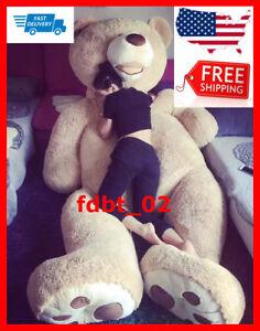 Giant teddy bear Big Size 200cm/79inch large American Skin huge Toy Good Quality