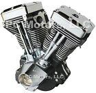 """ULTIMA EFI CONVERTED BLACK FINISH 113"""" OR 127"""" EVOLUTION LONG BLOCK ENGINE MOTOR"""