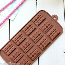 Mini Chocolate Block Silicone Mould ice tray jelly mold fondant soap cake party