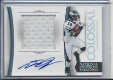 1/1 DESEAN JACKSON 2011 NATIONAL TREASURES COLOSSAL JERSEY AUTO #D 10/10 JSY #10