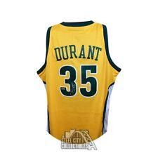 Kevin Durant Autographed Seattle Supersonics Swingman Basketball Jersey - Panini