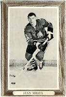 1964-67 Beehive Group III Stan Mikita Photo Card Chicago Black Hawks Clean Back