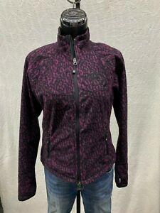 Harley Davidson Women's Animal Print Windproof Fleece Jacket