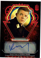 Doctor Who Extra Terrestrial Autograph Russell Tovey Alonso Red Parallel #2/5