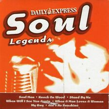 15 Mixed Music Tracks  | Soul Legends | Very Good Condition | Free Shipping