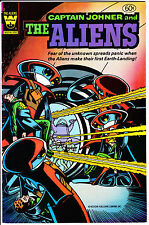Whitman Comics CAPTAIN JOHNER and the ALIENS 1982 #2A FN-/FN YELLOW LOGO pics