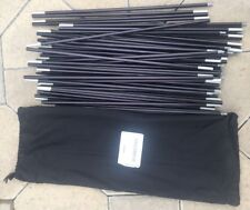 NEW EASTON POLE SET 9 POLES - FOR NORTH FACE OR EUREKA EXTREME COLD WEATHER TENT