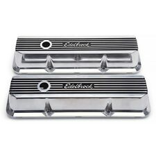 Edelbrock 4277 - ELITE II SERIES VALVE COVERS for 58-76 Ford FE