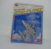 Vintage Zylmex Diecast Dyna-Flites  plane 1993 Boxed