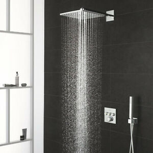 Grohe Grohtherm SmartControl Square Perfect Shower Set with Rainshower 310 Smart