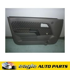 HOLDEN RODEO 2003 > DOOR TRIM EXCLUDING POWER WINDOWS DARK GREY NOS # 8972945072
