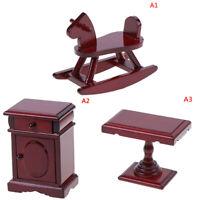 Maison de poupées Meuble en bois miniature 1:12 Accessoires Jouets pour enfaTRF