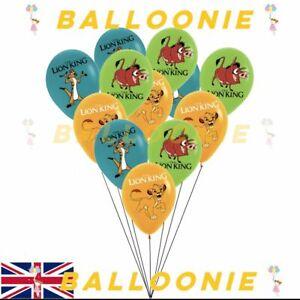 Lion King Latex Balloons Lion Guard Disney Birthday Decoration Supplies Party