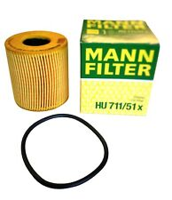 Original MANN Ölfilter HU711/51x  Citroen DS Fiat Ford Jaguar Lancia Mitsubishi
