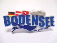 Bodensee Magnet Lake Constance Poly 9 cm Germany Souvenir (394)