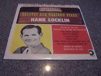 "Hank Locklin ""Original Country and Western Stars"" SEMI-SEALED LP DESIGN #DLP-603"