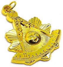Masonic Collar Past Master JEWEL Pendant DMP-100-G GOLD PLATED
