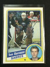 F60516  1984-85 Topps #14 Tom Barrasso RC SABRES PENGUINS