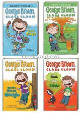 GEORGE BROWN CLASS CLOWN 1-4 (pb) Nancy Krulik Super Burp,Trouble Magnet +