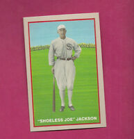 1919 BLACK SOX SHOELESS JOE JACKSON 1992 COLOR REPRINT SERIE CARD
