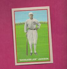 1919 BLACK SOX SHOELESS JOE JACKSON 1992 COLOR REPRINT SERIE CARD