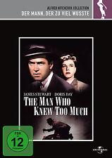 DVD * DER MANN, DER ZUVIEL WUSSTE | ALFRED HITCHCOCK COLLECTION # NEU OVP +