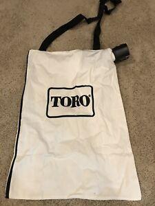 GENUINE New OEM TORO PART # 137-2336 BLOWER DEBRIS VACUUM BAG;108-8994, 127-7040