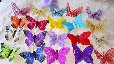 JOBLOT de 48 piezas pequeñas Mariposa Imanes para refrigerador nuevos al por mayor