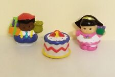 Little People 1st First Birthday Cake Party, Michael, Sarah Lee,Present Lot of 3