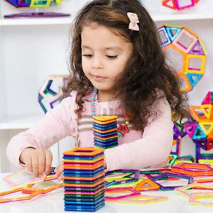 76PCS Magnetic Building Blocks Kids Magic Construction Educational Toys