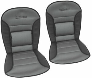 VW TRANSPORTER MOTORHOME LUMBER LOWER BACK SUPPORT SEAT COVERS CUSHION PAIR