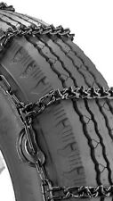 *V-BAR* 245/70R19.5 WRECKER SPECIAL **7mm**COMMERCIAL** CAM Snow Tire Chain 5-5