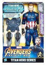 CAPITAN AMERICA Marvel AVENGERS Titan Hero 30CM HASBRO E0607103 -nuovo-Italia