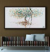 """Tree 67"""" Original oil painting on canvas, Luxury thick layers, tree of Life"""