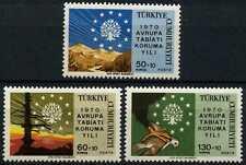 Turkey 1970 SG#2306-8 Nature Conservation Year MNH Set #D62281