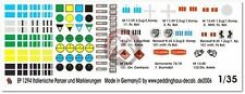 Peddinghaus 1/35 Italian Tank and Vehicle Markings WWII (9 vehicles) 1294
