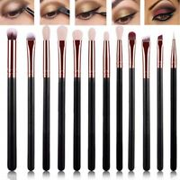 12Pcs Make-up Brushes Set Powder Eye Shadow Eyeliner Lip Brush Pro. JJXX