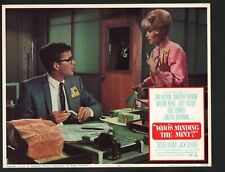 Who's Minding the Mint Lobby Card #1-1967-Jim Hutton and Dorothy Provine