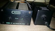 pre phono mc creek audio obh9 + power supply obh
