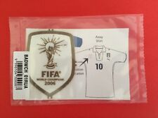 2006 - 10 Italy GENUINE SEALED FIFA World Champions 2006 Player Issue Patch