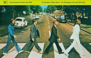 Custodis THE BEATLES: Abbey Road - Ein Übergang und seine Wirkung. LP-Cover-Bild
