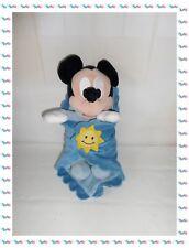 ♫ - Doudou Peluche Mickey  avec sa Couverture Soleil Disney Store